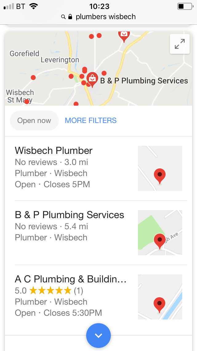 local seo for local business